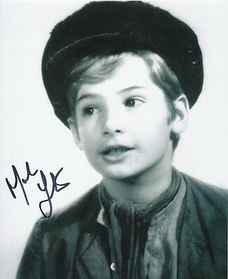 Mark Lester SIGNED photo - J644 - Oliver!