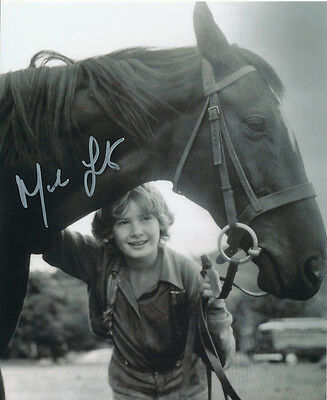 Mark Lester SIGNED photo - J648 - Black Beauty