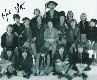 Mark Lester SIGNED photo - J650 - Oliver!