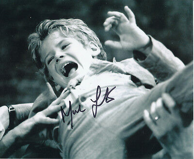 Mark Lester SIGNED photo - J655 - Oliver!