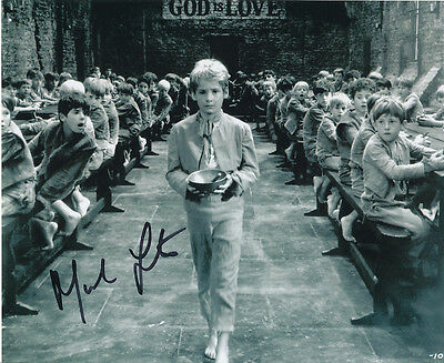 Mark Lester SIGNED photo - J663 - Oliver!