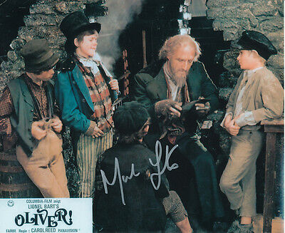 Mark Lester SIGNED photo - J664 - Oliver!