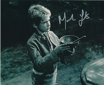 Mark Lester SIGNED photo - J671 - Oliver!