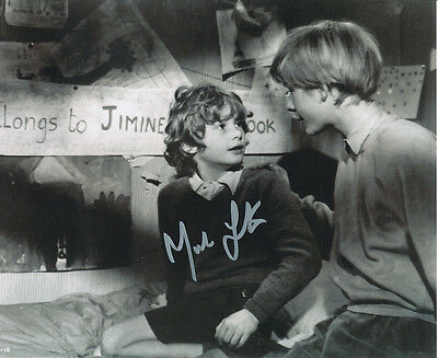 Mark Lester SIGNED photo - J685 - Child star