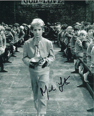 Mark Lester SIGNED photo - J689 - Oliver!