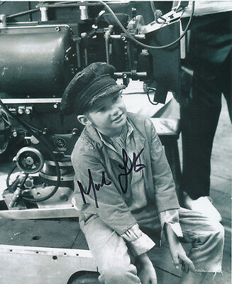 Mark Lester SIGNED photo - J691 - Oliver!