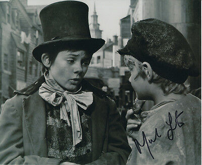 Mark Lester SIGNED photo - J700 - Oliver!