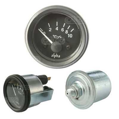Cargo 160700 ( Equiv to 0-523-16) Oil Pressure Gauge with Sender 12 Volt - 52mm