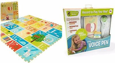 NEW - Creative Baby I-mat: My Alphabet and VOICE PEN (BUNDLE)  - FREE SHIPPING