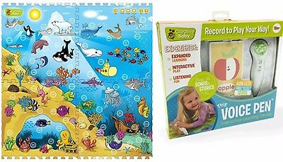 NEW - Creative Baby I-mat: Under the Sea and VOICE PEN (BUNDLE)  - FREE SHIPPING