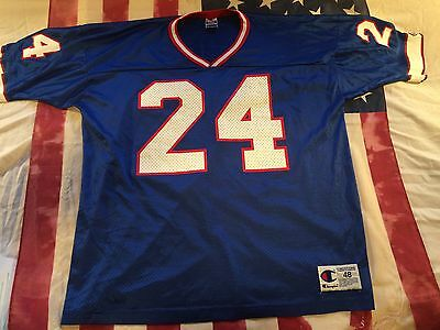 RARE VTG 1992-99 Kurt Schulz Buffalo Bills Jersey Champion 48 XL Near Mint