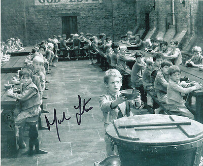 Mark Lester SIGNED photo - J710 - Oliver!