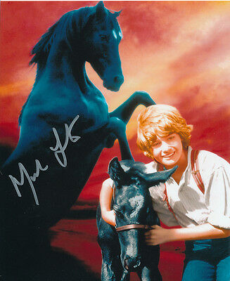 Mark Lester SIGNED photo - J719 - Black Beauty
