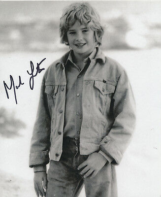 Mark Lester SIGNED photo - J726 - English former child star and actor