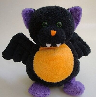 "Ty Pluffies Wingers the Halloween Bat 7"" Plush Tylux 2007 Barnes+Noble Excl. NHT"