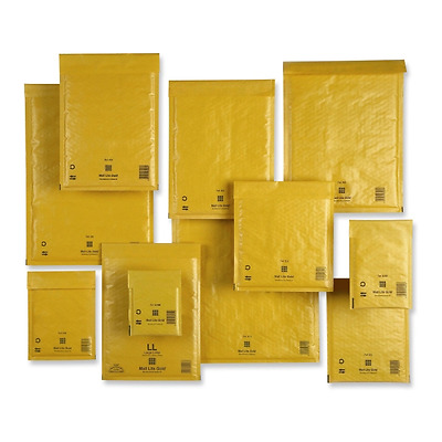 Cf. Da 10 Buste Imbottite Mail Lite Gold In 11 Formati Diversi Sealed Air Avana