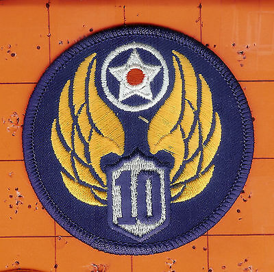10th   USAAF    United States Army Air Force  ( Air Corps )     Patch