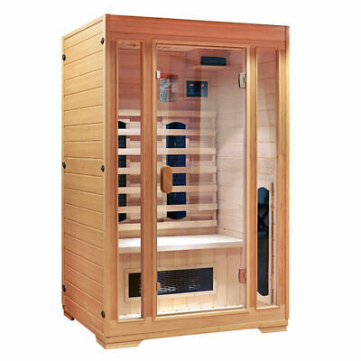 infrarot w rmekabinen sauna schwimmbecken heimwerker 527 items picclick at. Black Bedroom Furniture Sets. Home Design Ideas