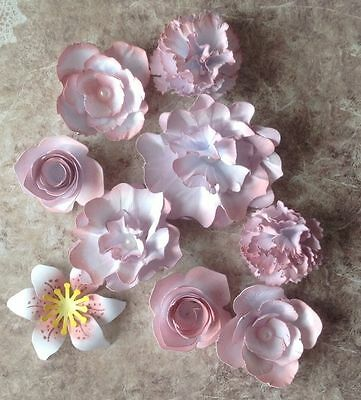Gorgeous Colour Collection Handmade Paper Flowers Choice Of Colours