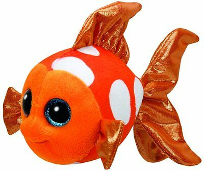 TY BEANIES SAMI the FISH 15cm  SOFT TOY