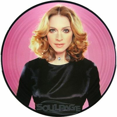 """Madonna - Turn Up The Radio - Part 4 - 12"""" Picture Disc NEU"""