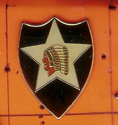 2nd  Infantry  Division   Insignia   Pin