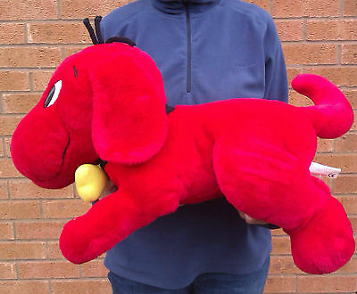 "Huge 24"" Clifford The Big Red Dog - Soft Plush Toy."