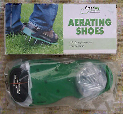 GREENKEY - AERATING SHOES - BOXED - 5 cm SPIKES