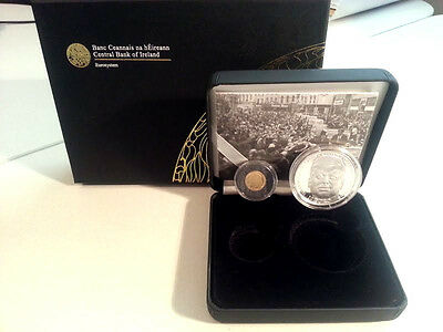 Ireland 2013 €10 & €20 John F Kennedy Silver & Gold Double Proof Coin Set