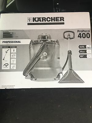 Karcher ProPuzzi 400 Professional Carpet &Upholstery Cleaning Machine Brand New