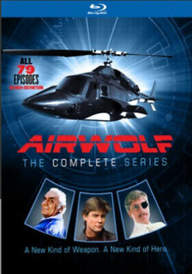 Airwolf: Complete Series - 14 DISC SET (2016, Blu-ray NEW)