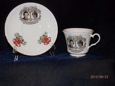 Vintage Canadian Classic - Marriage 1981 Charles & Diana -  Cup & Saucer -