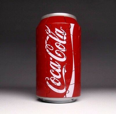 Coca-Cola 40 Piece Coke Can 3D Puzzle Official Licensed Product