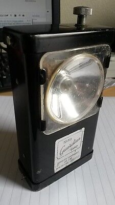 Antique Guardian Hand Lamp by Forster Equipment Co. used by Police circa 1960s