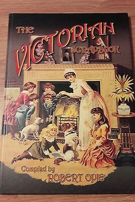 Large Victorian Scrapbook /card making /crafting