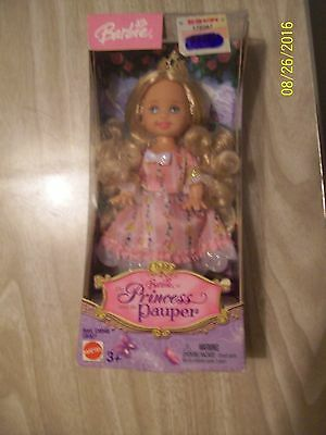 Barbie As The Princess And The Pauper Series Kelly Doll - Nib