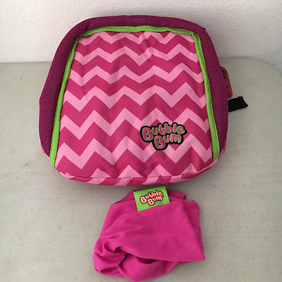 Bubble Bum Inflatable Booster Seat, Pink/Chevron