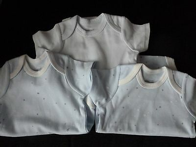 Mamas and Papas 3 x  Bodysuits Vests Newborn