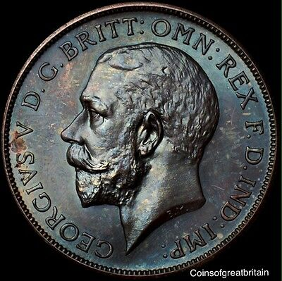 George V Proof Florin dated 1911