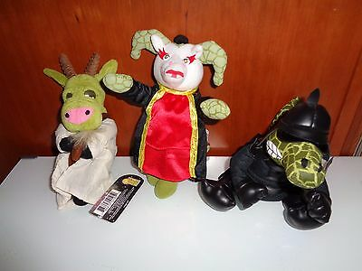 Set of 3 FARCE WARS The Fantom Meanies - NEW NWT Star Wars Spoof Dolls