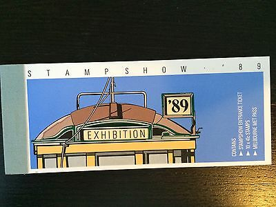 1989 Stamp Show Exhibition Stamp Booklet - $4.10 (10 x $.41 stamps)