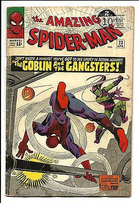 Amazing Spider-Man # 23 (3Rd Green Goblin, Apr 1965), Vg