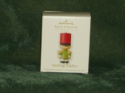 Hallmark 2010 Smiling Soldier - KOC Club Miniature Ornament - NEW