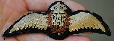 Early padded RAF pilot wings