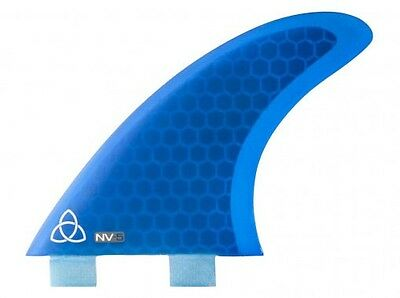 Honeycomb Core Thruster Surfboard Fins (Set of 3) FCS Compatible (Select Color)