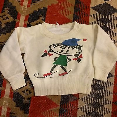 Vintage 50s Childs Sweatshirt