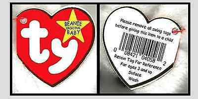 Beautiful Pattern Ty Beenie Babies Rare Retired Collectable Brand New with Tags