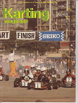 Karting Magazine March 1980 : see below for content listing: Rare !
