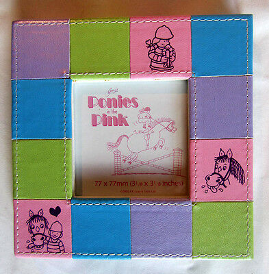 Beautiful 'Ponies In Pink' Photo Frames – Square