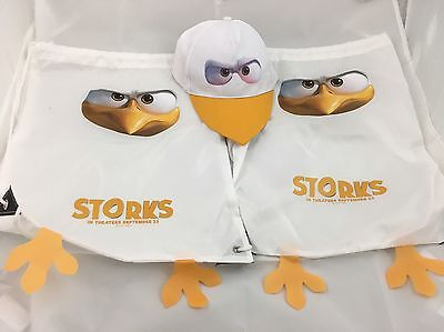 Storks Movie Promo Bags And Hat Collectible Memorabilia Swag Keepsake Fan Gear
